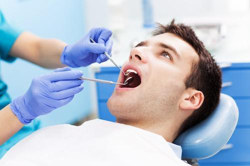 Dental Patient in Chair | General Dentistry Beachwood OH