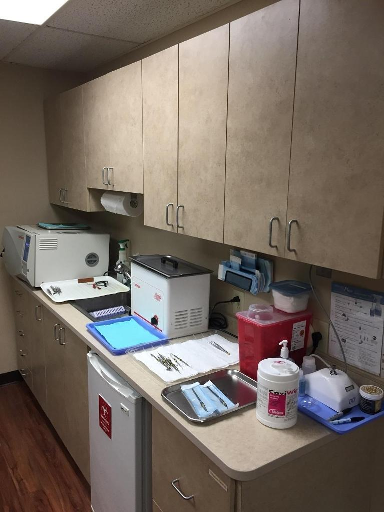 Image of the office sanitary area | Beachwood OH