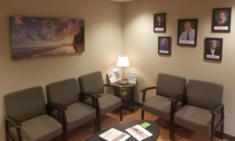 Image of the office waiting room | Beachwood OH